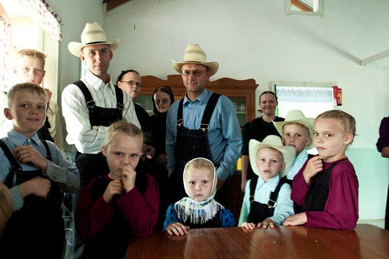 Bolivian Mennonite family