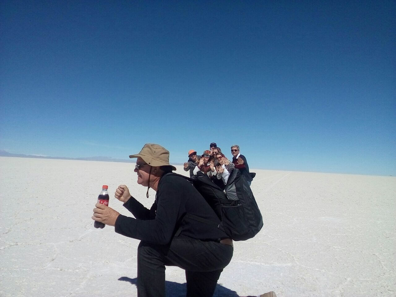 perspectieve photo, Uyuni salt flats