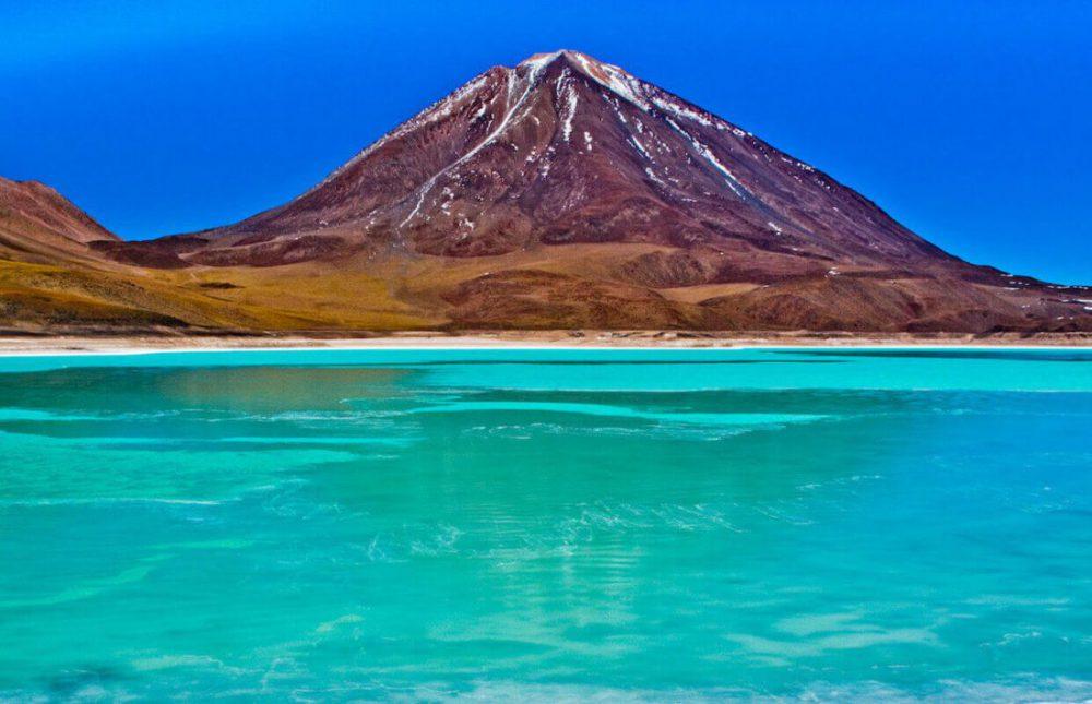 Laguna Verde Uyuni salt flats