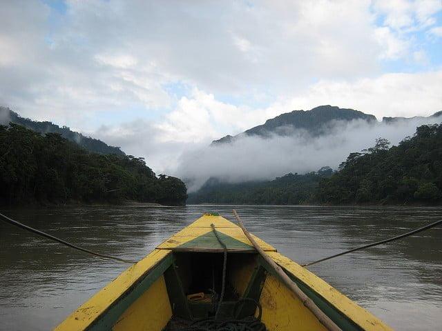 Tuichi river, Madidi Chalalan ecolodge