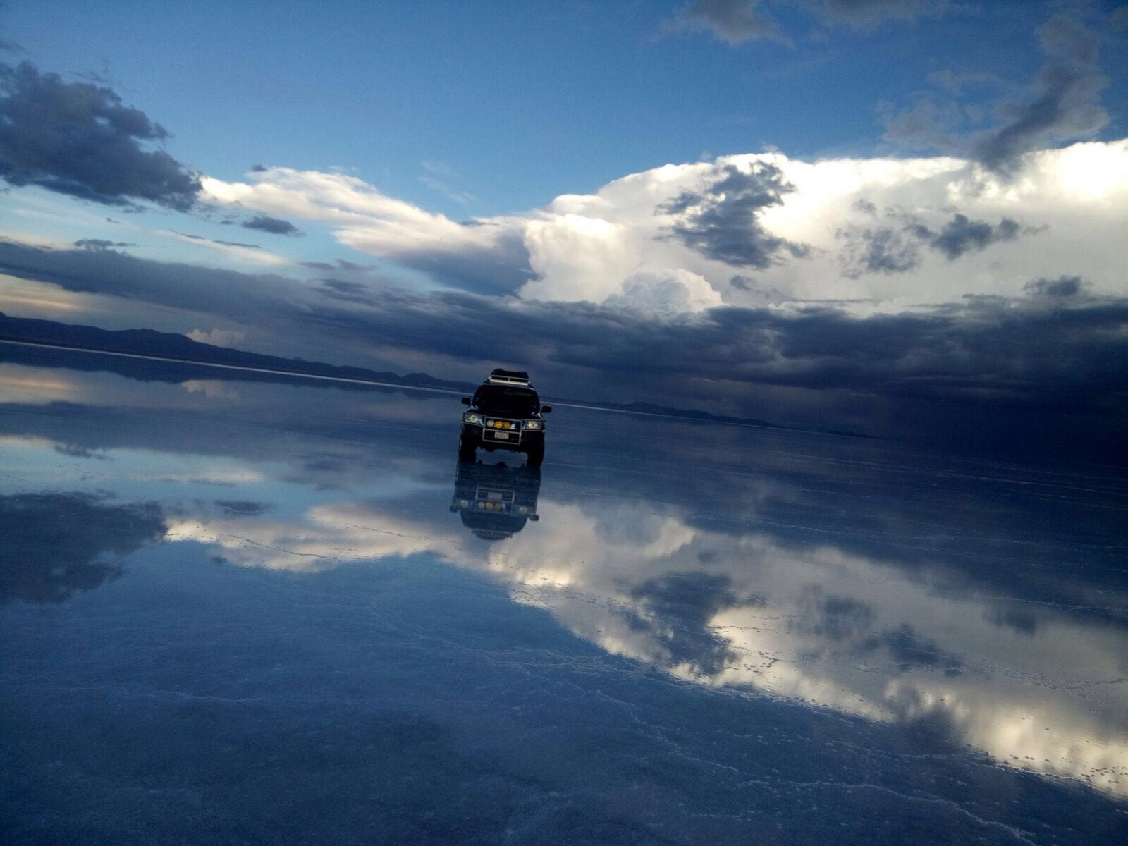 Uyuni giant mirror wet season