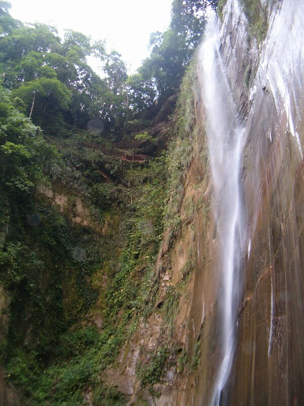 Waterfall - Amboro national park, Bolivia