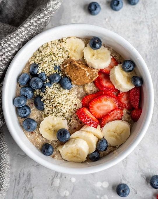 Breakfast with quinoa