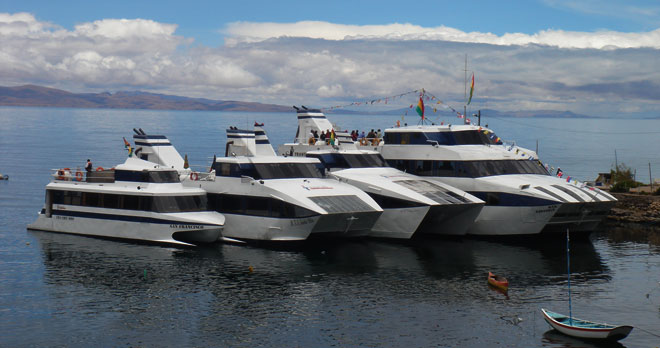 Lake Titicaca catamaran cruise