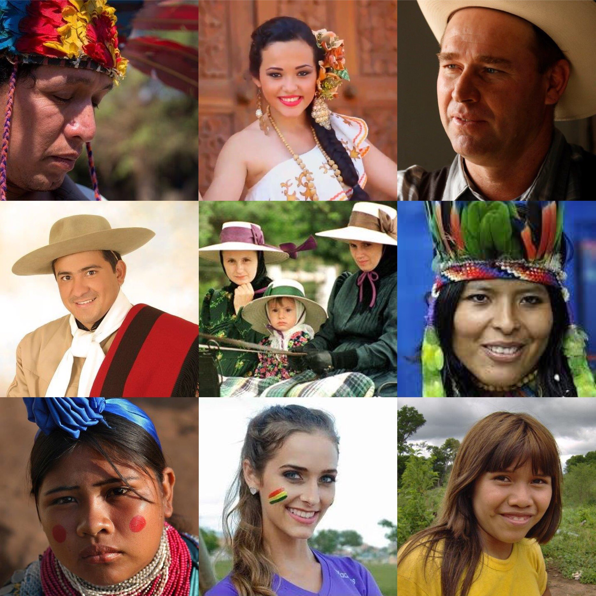 multi ethnic society low lands Bolivia