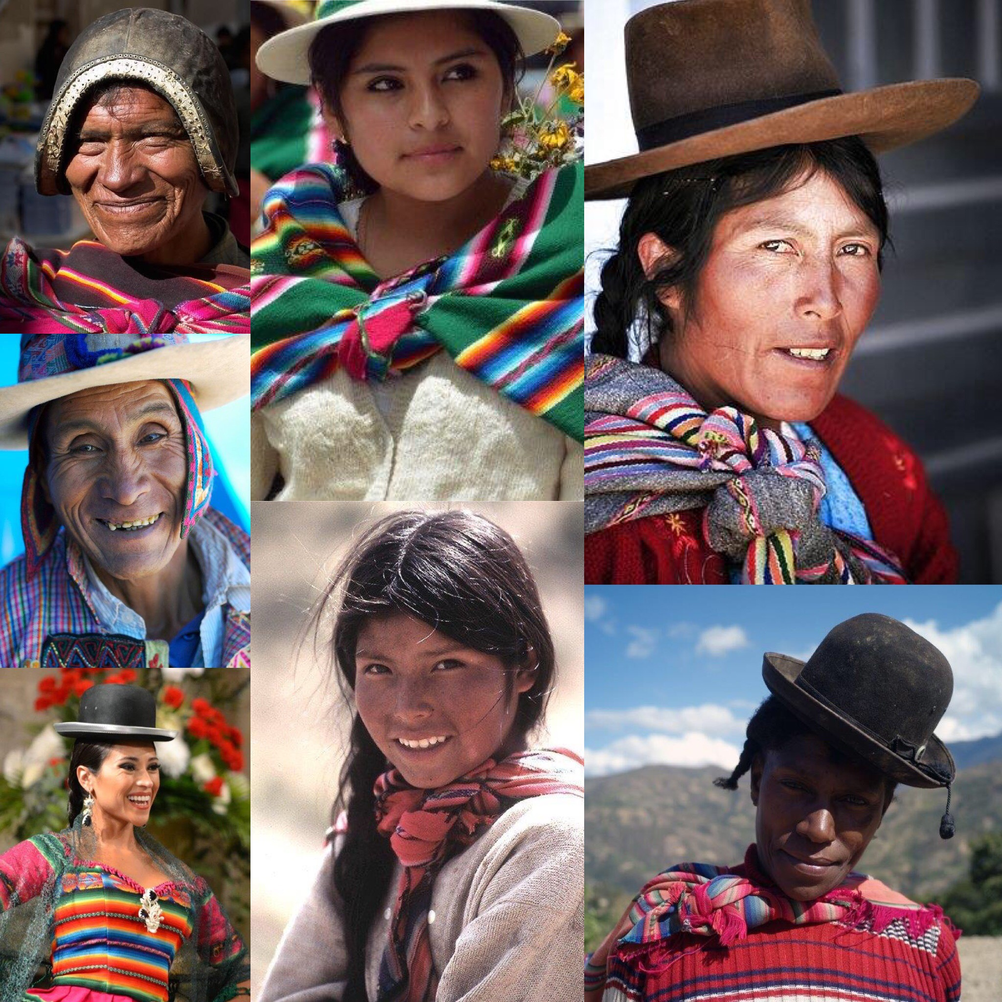 multiethnic society high lands Bolivia