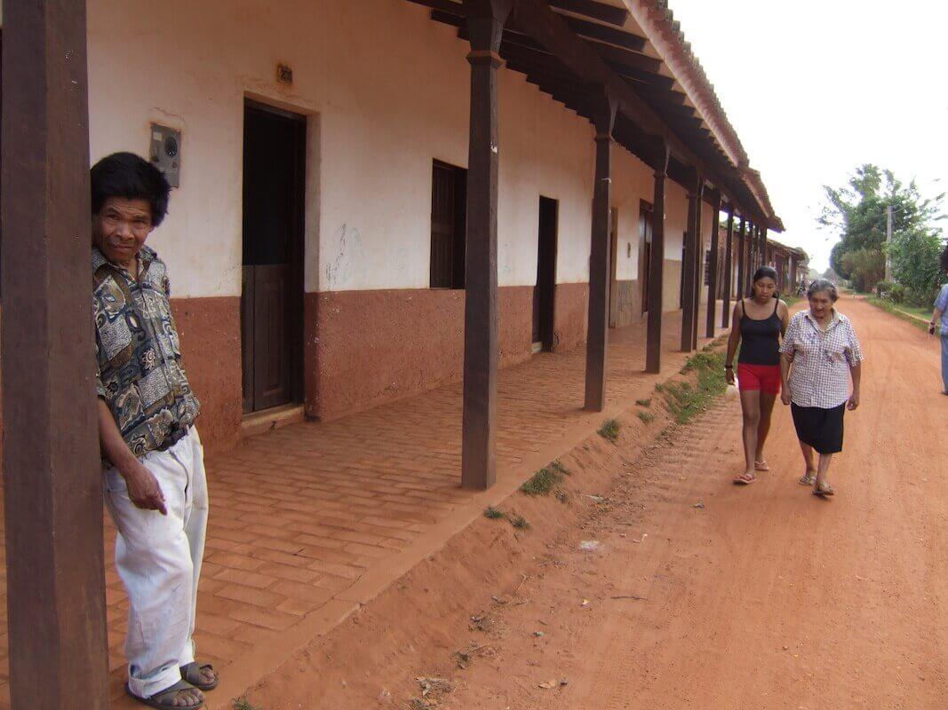 Street in Concepcion, Santa Cruz, Bolivia