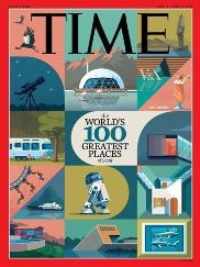 Kachi lodge on the cover of Time magazine