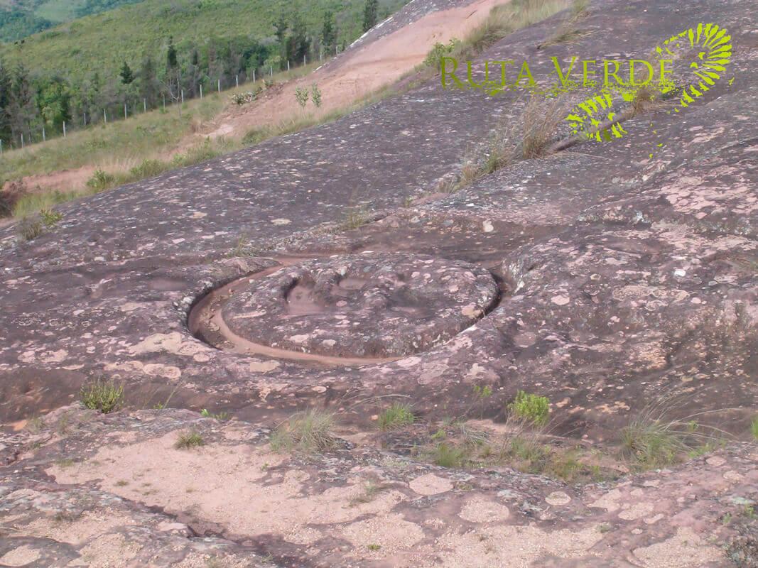 High-relief carving El Fuerte de Samaipata