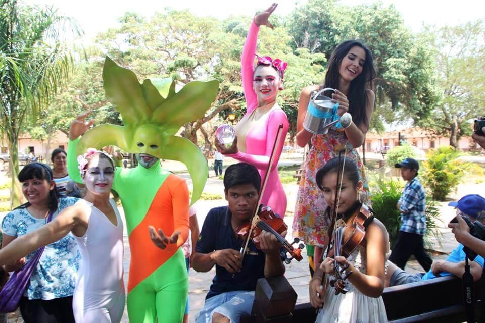 Baroque Music - Orchid Festival Concepcion, Bolivia