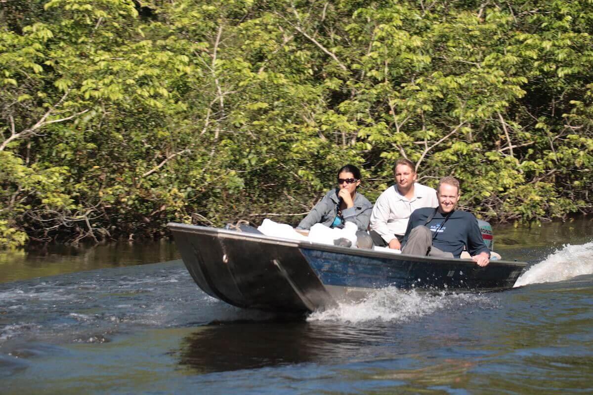 Flor de Oro boat trip, Noel Kempff National Park