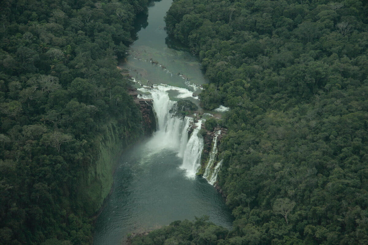 Flor de Oro waterfall, Noel Kempff National Park