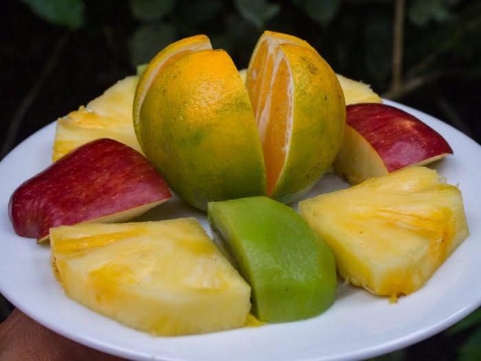 fruit breakfast madidi jungle lodge