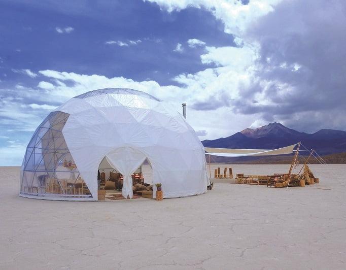 Kachi lodge dome exterior