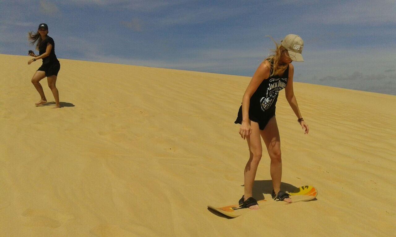 sand boarding, Lomas de Arena, Santa Cruz, Bolivia