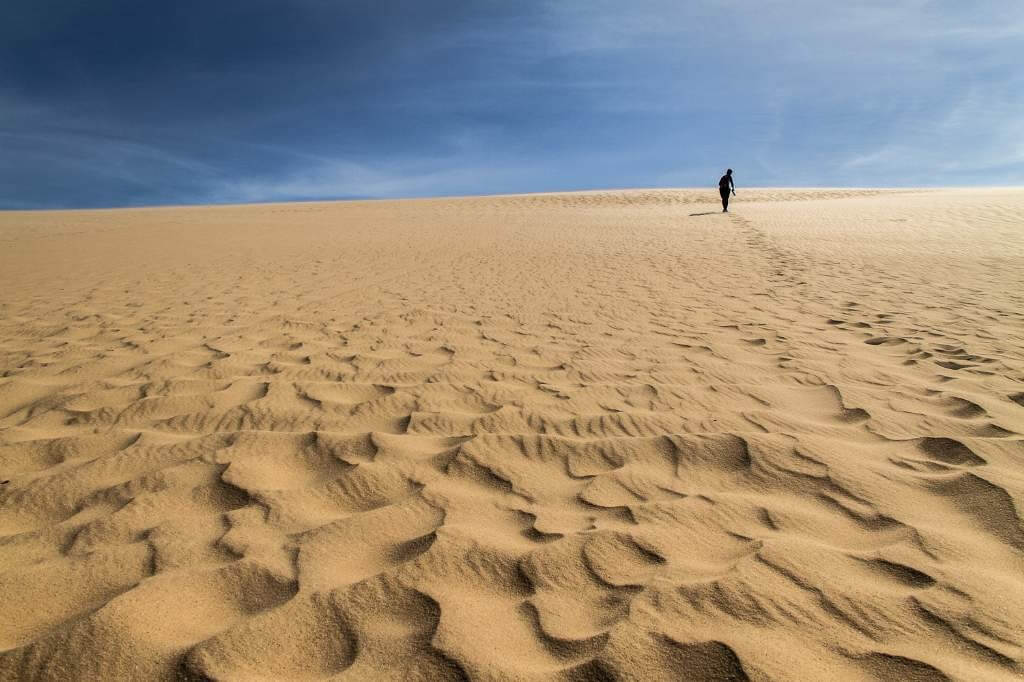 Lomas de Arena desert, Santa Cruz, Bolivia
