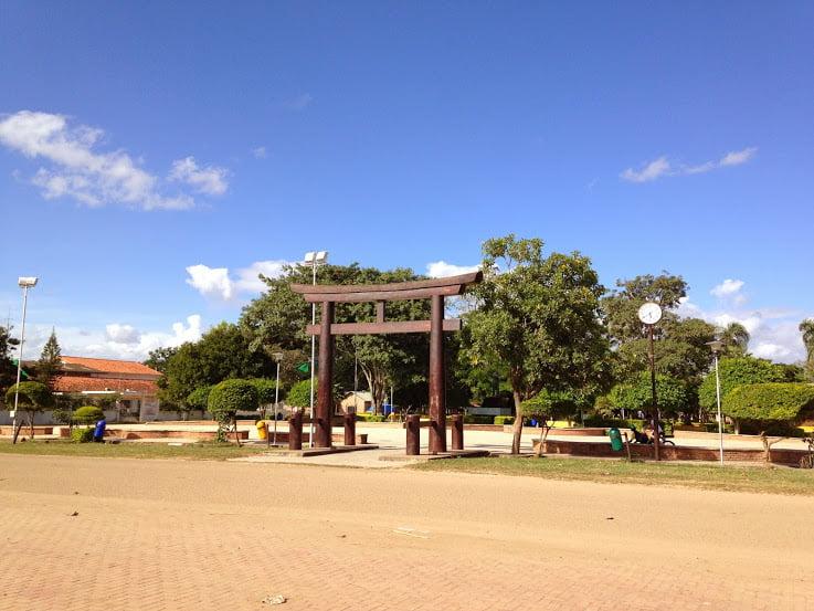 Colonia Okinawa in Santa Cruz, Bolivia.