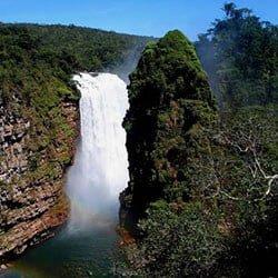 Arco Iris waterfall, Noel Kempff Mercado national park, Bolivia