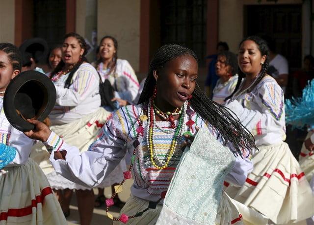 Afro-Bolivian dance: Saya