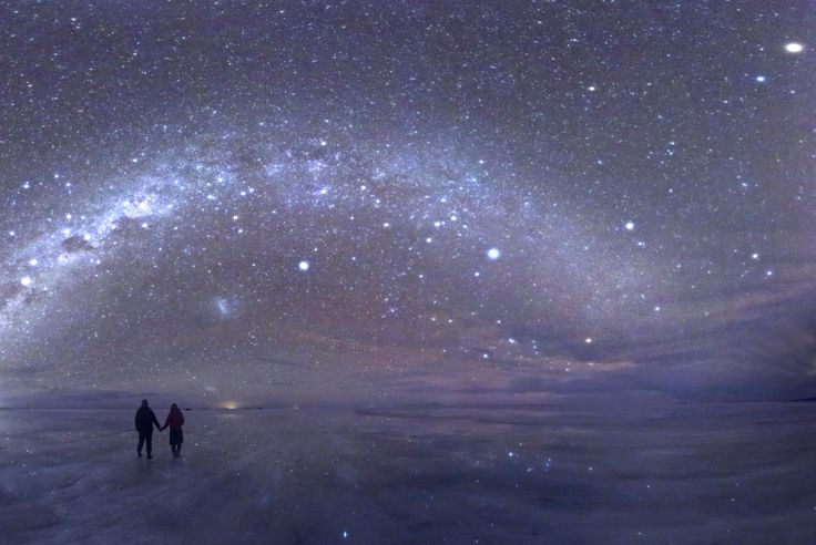 stars, Uyuni salt flats