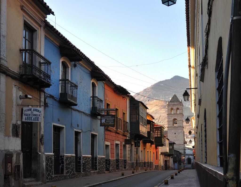 Calle Tarija - Potosi, Bolivia