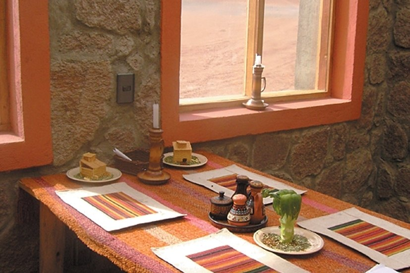 tayka del desierto table