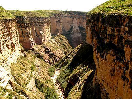 Toro Toro canyon, Toro Toro National Park
