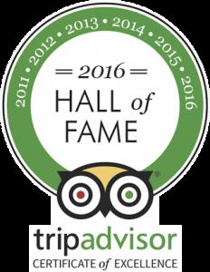 Tripadvisor winner 2016