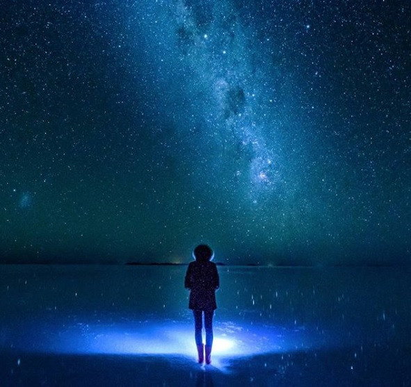 Alone with the stars, Uyuni